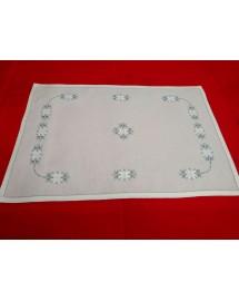 mantel individual-bordado aritos