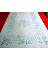 camino de mesa dibujado para bordar