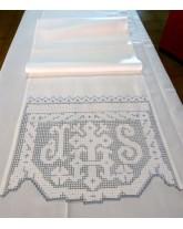 ambón litúrgico. bordados religiosos de lagartera