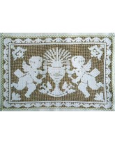 tapiz-tapete cáliz y angelitos
