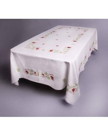 mantel de uvas-artesanos del bordado