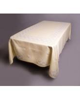 mantel de las cajas-bordado a mano en lagartera