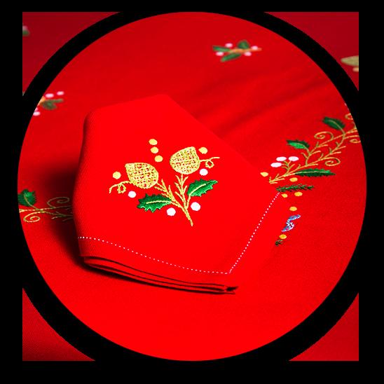 Artesanía Rocío Lozano ofrece una amplia selección de mantones, mantelerías, juegos de cama, textil del hogas, artículos de regalo, etc.